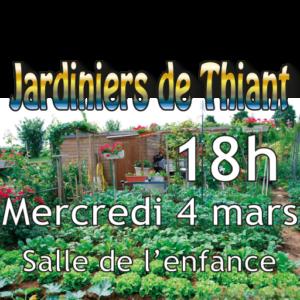 Assemblée Générale des Jardiniers de Thiant