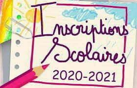 Inscriptions scolaires 2020-2021