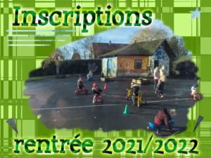 Read more about the article Inscription en maternelle rentrée 2021