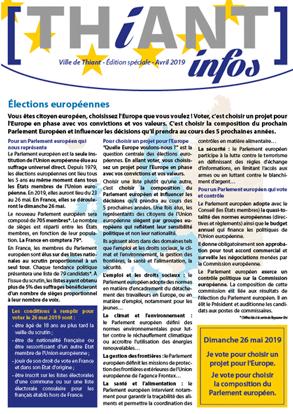 Thiant Infos - Edition spéciale - avril 2019