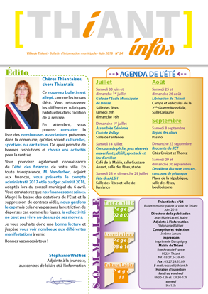 Thiant Infos - numéro 24 - juin 2018