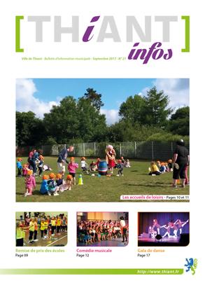 Thiant Infos - numéro 21 - septembre 2017