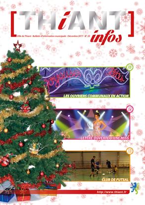 Thiant Infos - numéro 22 - décembre 2017