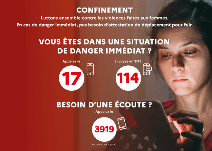 Confinement et violences conjugales